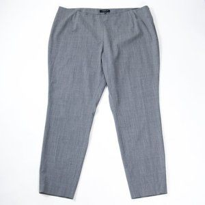 Lafayette 148 Gray Wool Stretch Dress Pants